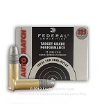Federal Ammunition 22LR 40gr Auto Match, 325ct