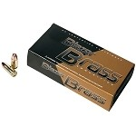 BLAZR BRASS AMMO 9MM 124GR FMJ