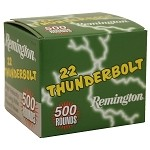 Remington .22LR Thunderbolt HV 40gr 500/box