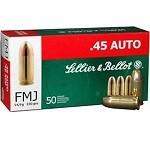 Sellier & Bellot® .45ACP 230 - grain FMJ Ammo
